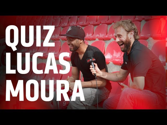 QUIZ TRICOLOR: LUCAS MOURA MADEINCOTIA ISSOÉSÃOPAULO | SPFCTV