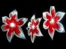 Школьные резиночки на каждый день/Канзаши Цветы/kanzashi flowers