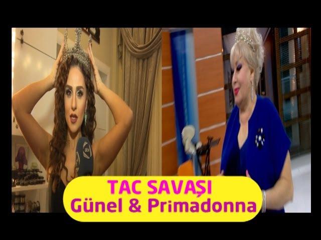 Azeri qizi Günelin tacı,Primadonnanın qəzəbinə tuş gəldi ATV 10LAR Onlar