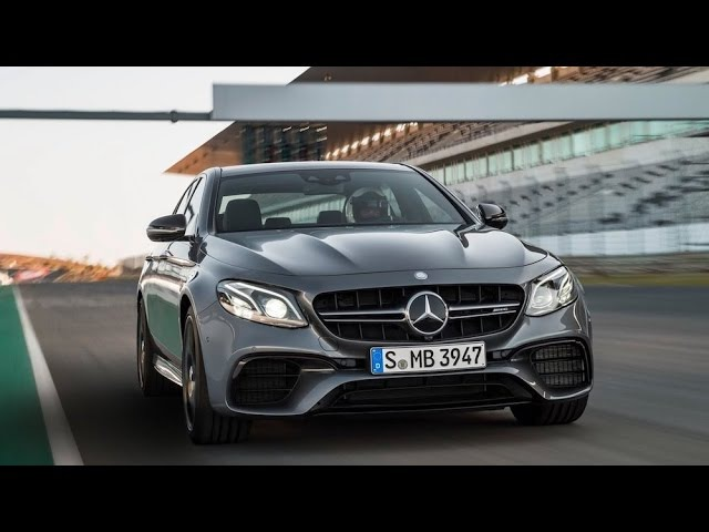 2017 Mercedes AMG E 63 S 4MATIC DRIVE