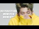 Rap monster God of Destruction moments