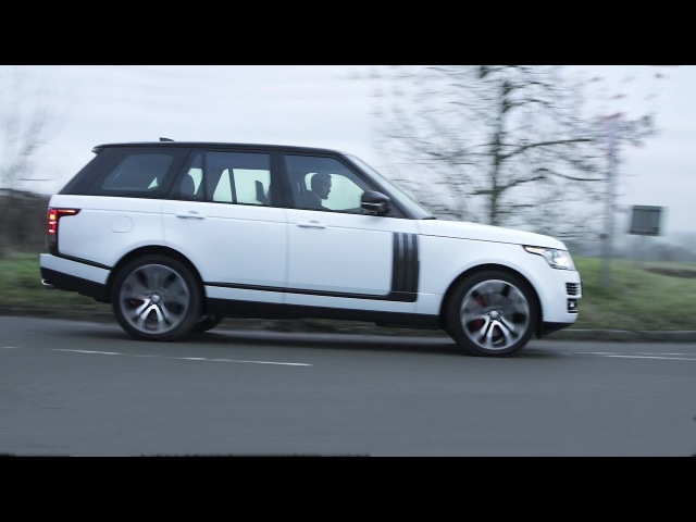 2018 Range Rover SVAutobiography Dynamic 550hp - interior Exterior and Drive