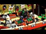 LEGO Ninjago Movie Destinys Bounty 70618 Корабль Мастера Ву из мультика Лего Ниндзяго Фильм Обзор