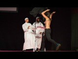 Topless FEMEN disrupt Muslim conference in France, get kicked