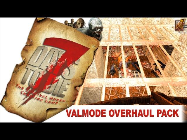 7 Days to Die 15 alpha Valmod ► 14 Зомби РЭЙВ Дискотека 21 день Грабёж оружейного магазина