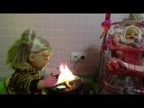 Куклы Беби Борн на пикнике  Baby Born Doll Катя обожгла руку и плачет Делаем перевязку