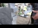 Комбо Гранит - Насадка на болгарку - шлифовка и полировка гранита, православный крест шлифовка