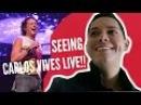 Carlos Vives Live at The Greek Theatre VISITING WEHO **WARNING ITS LIT**