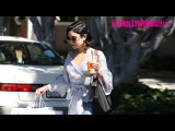 Vanessa Hudgens Goes Shopping At L'agence On Melrose Place In West Hollywood 6.12.17