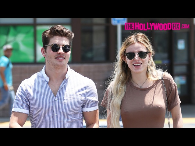 Bella Thorne Gregg Sulkin Stop By Rite Aid Pharmacy After Enjoying Lunch Together 6 5 17