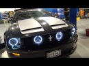 2007 Mustang GT LED Headlights Halo's Install