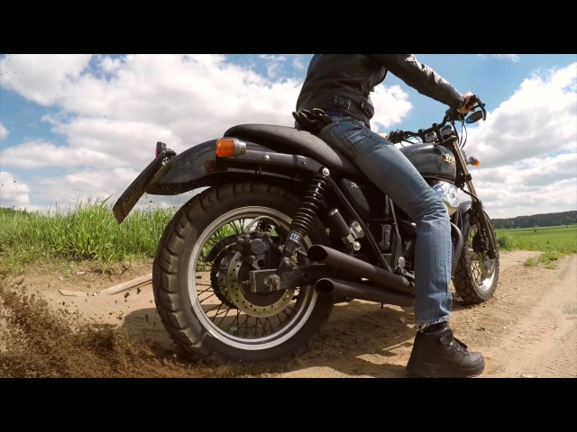 Wanna Be Scrambler Honda VRX 400 Roadster