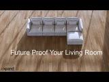 The Adagio luxury modular sofa with feather comfort