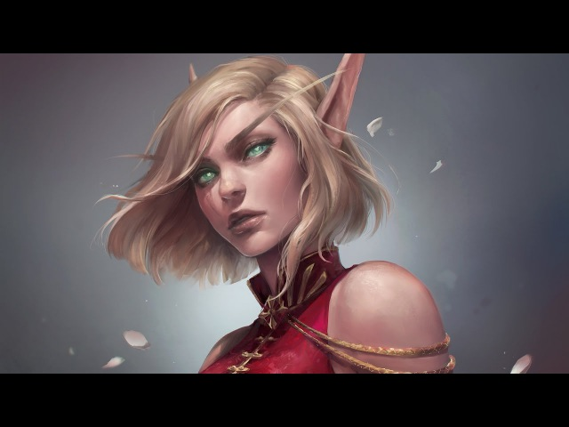 Astri Lohne — Atia | Digital Painting Process