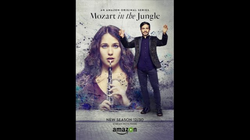Моцарт в джунглях (сериал 2014 – ...) / Mozart in the Jungle / Трейлер (сезон 3; русский язык)