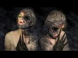 HALLOWEEN HORROR MAKEUP TUTORIAL I Хоррор макияж на Хэллоуин
