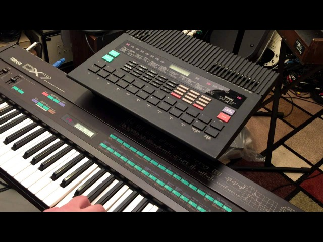 Yamaha DX7 and RX5 noodling