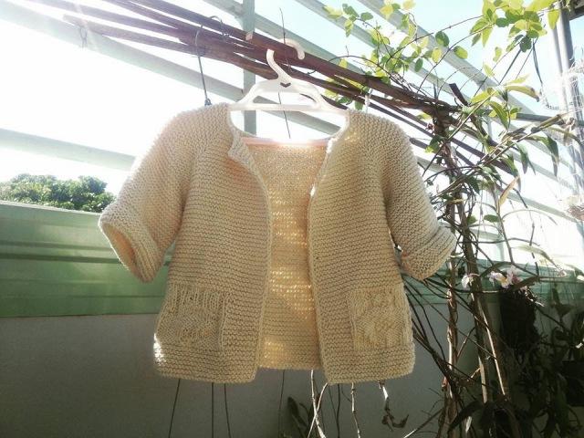 [Knitting topdown] Hướng dẫn đan áo topdown RB1