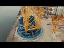 Solutions Howwedoit This is how Sarens assembles one of the biggest cranes in the world, the SGC