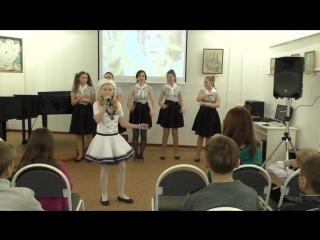 Песня Морской волк, Анастасия Винникова, выступление на Бибилионочи в Детской городской библиотеке на Звездинке