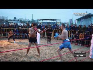 Подвальный качек против Крепкого Димона. На стрелке