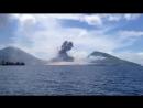 Извержение вулкана, Папуа-Новая Гвинея, туристы, holy smoking toledos
