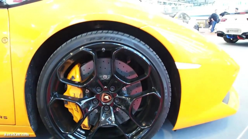 Lamborghini Huracan LP610 4 Coupe Arancio Borealis Lift Tuning