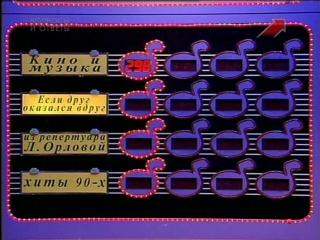 [staroetv.su] Угадай мелодию 3 (ОРТ, 1997) Александр Малинин, Валерия, Сергей Минаев