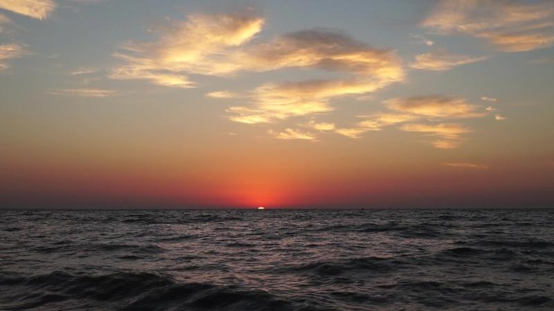Рассвет в Феодосии ( оригинал видео 1)