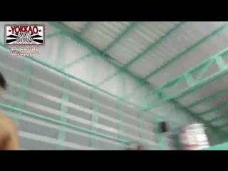 Pakorn KILLER Muay Thai Knee Training for YOKKAO 13 4K UltraHD