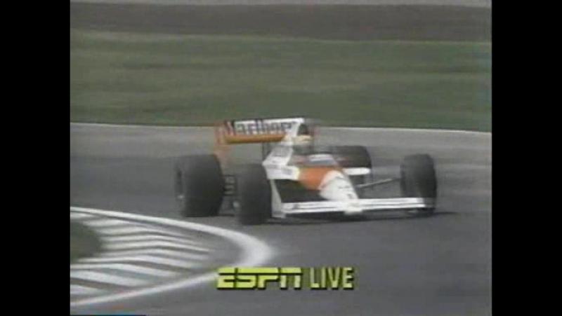 F1 1989. Гран-при Мексики. Гонка