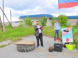 Модератор митинга против коррупции Василий Потапов. 12.06.2017