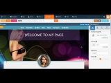 Camgirl Live Template Editor - MyFreeCams design process Mellany
