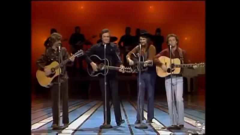 Johnny Cash, Kris Kristofferson, Larry Gatlin Waylon Jennings - Ring Of Fire