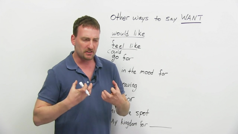 Improve Your English Vocabulary_ 6 ways to say WANT