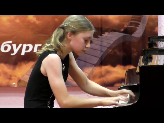 Мелихова Алина на Международном конкурсе Вдохновение 2017