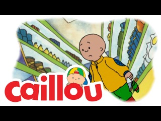 Caillou - Caillou Goes Shopping  (S01E13) | Cartoon for Kids