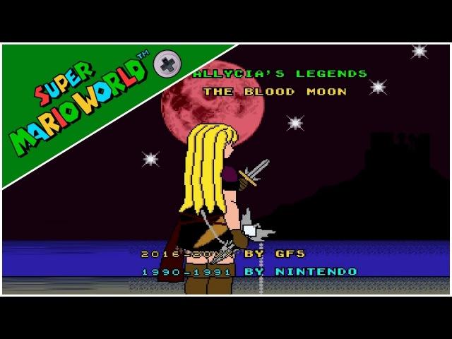 Allycia Legends - The Blood Moon (Demo) (2016) | Super Mario World Hack