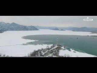 Скадарское озеро. Черногория. SKADARSKO JEZERO - LEDENI DANI - 2017