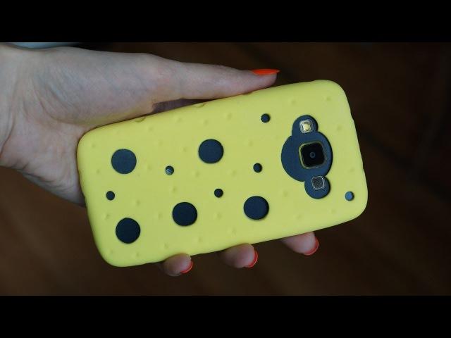 5 идей из силикона Чехол на телефон из силикона своими руками Cilicon phone case