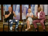 Vin Diesel - interview on Live! with Kelly April 10, 2017