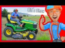 Lawn Mowers for Kids Yard Work with Blippi