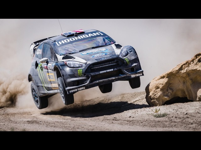PENNZOIL SYNTHETICS KEN BLOCK'S TERRAKHANA: THE ULTIMATE DIRT PLAYGROUND; SWING ARM CITY