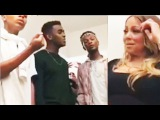 Mariah Carey Live Reacts To An AMAZING RnB Group Covering Hero!