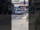 Драку таксиста с водителем внедорожника сняли на видео в Кишиневе