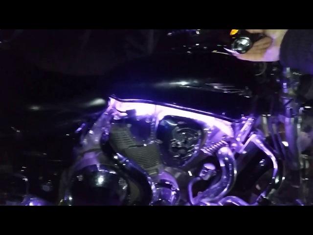 Honda VTX1800 | Dynamic Lighting Engine | Динамическая Подсветка Двигателя | №_6