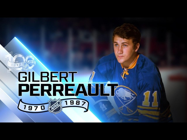 Gilbert Perreault centered French Connection line