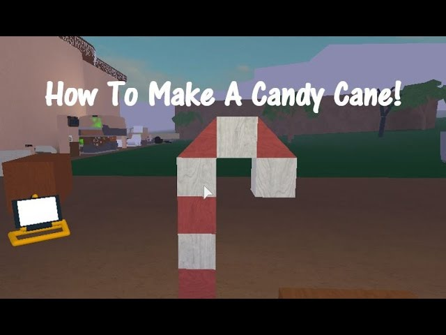 How To Make A Candy Cane! Lumber Tycoon 2