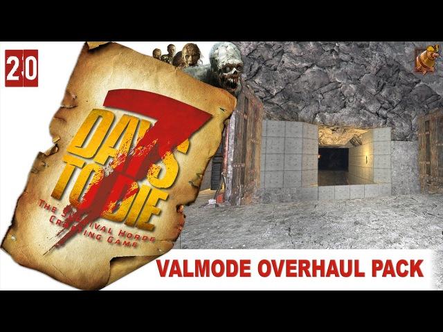 7 Days to Die 15 alpha Valmod ► 20 Начало разводной ловушки моста