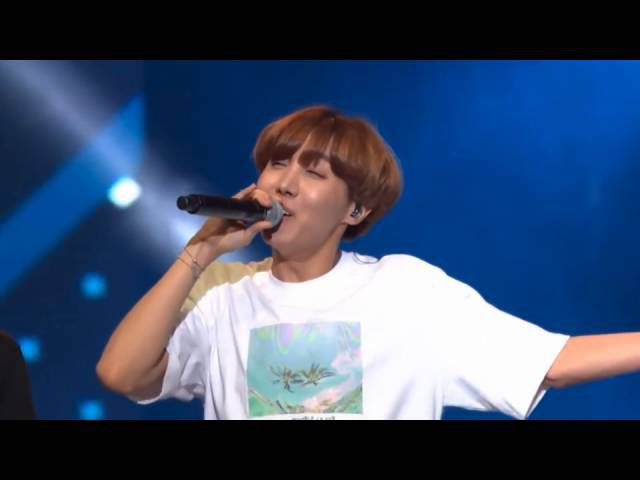 I'm your Hope! I'm your Angel!   J-Hope's greeting